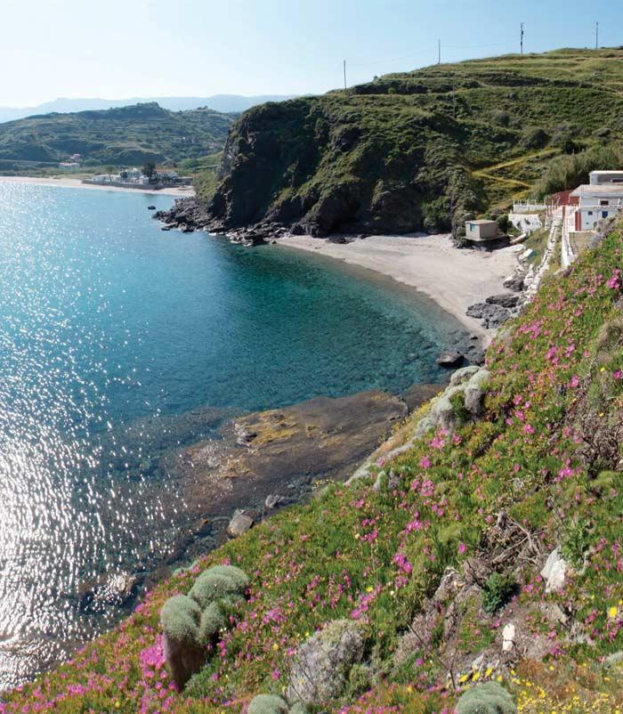 ikaria olivia villas beach