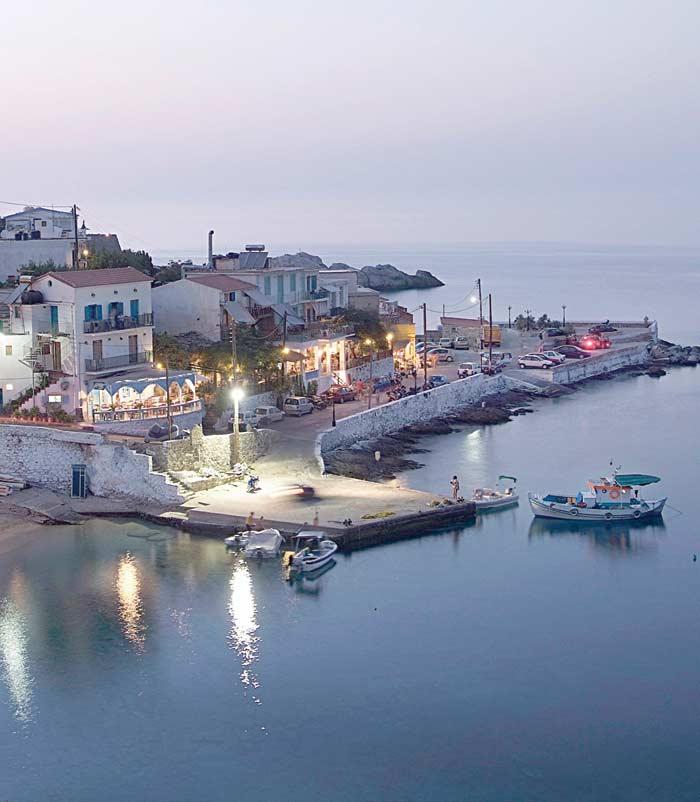 ικαρία olivia villas λιμάνι