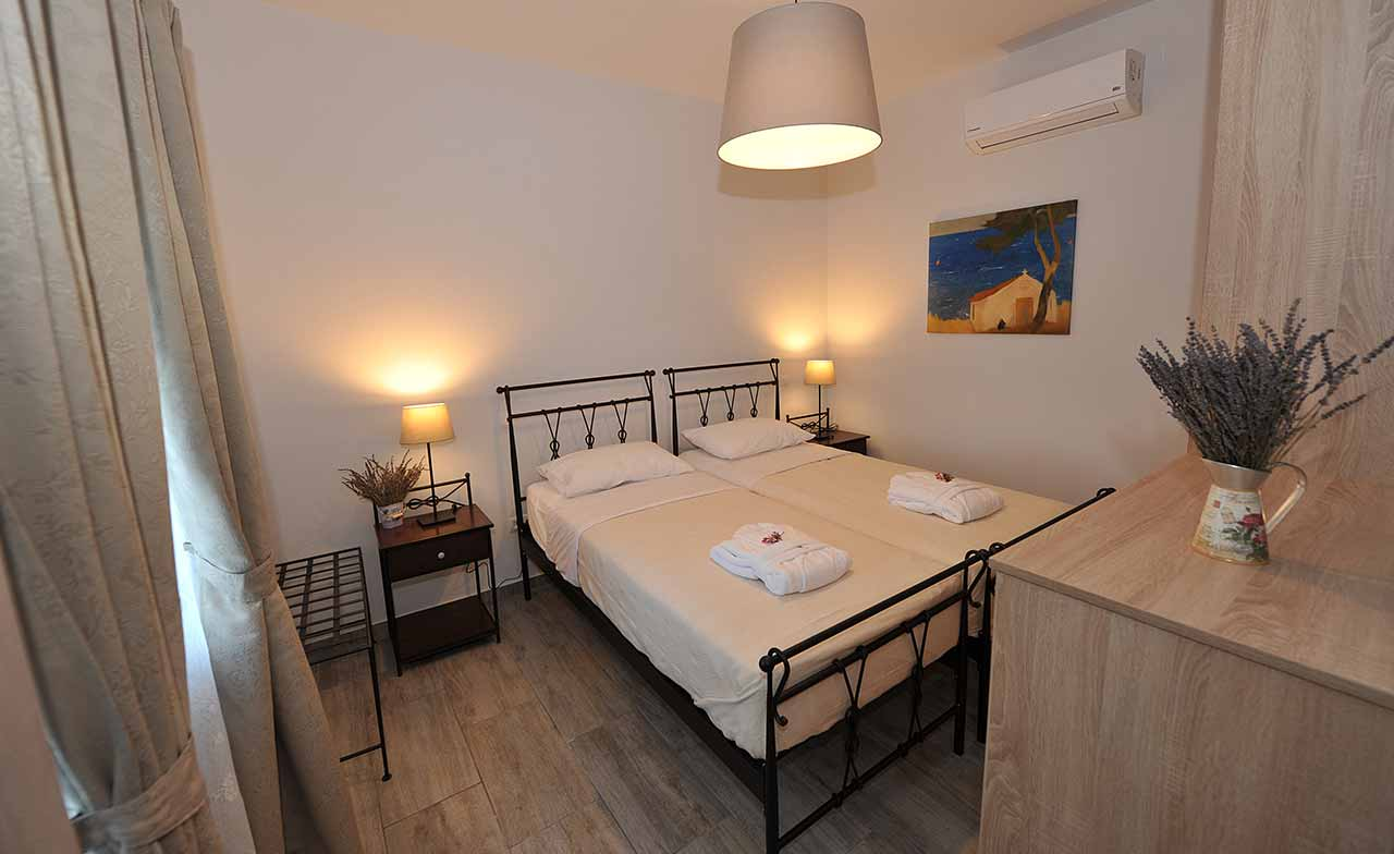 ikaria olivia villas - villa petrino bedroom photo