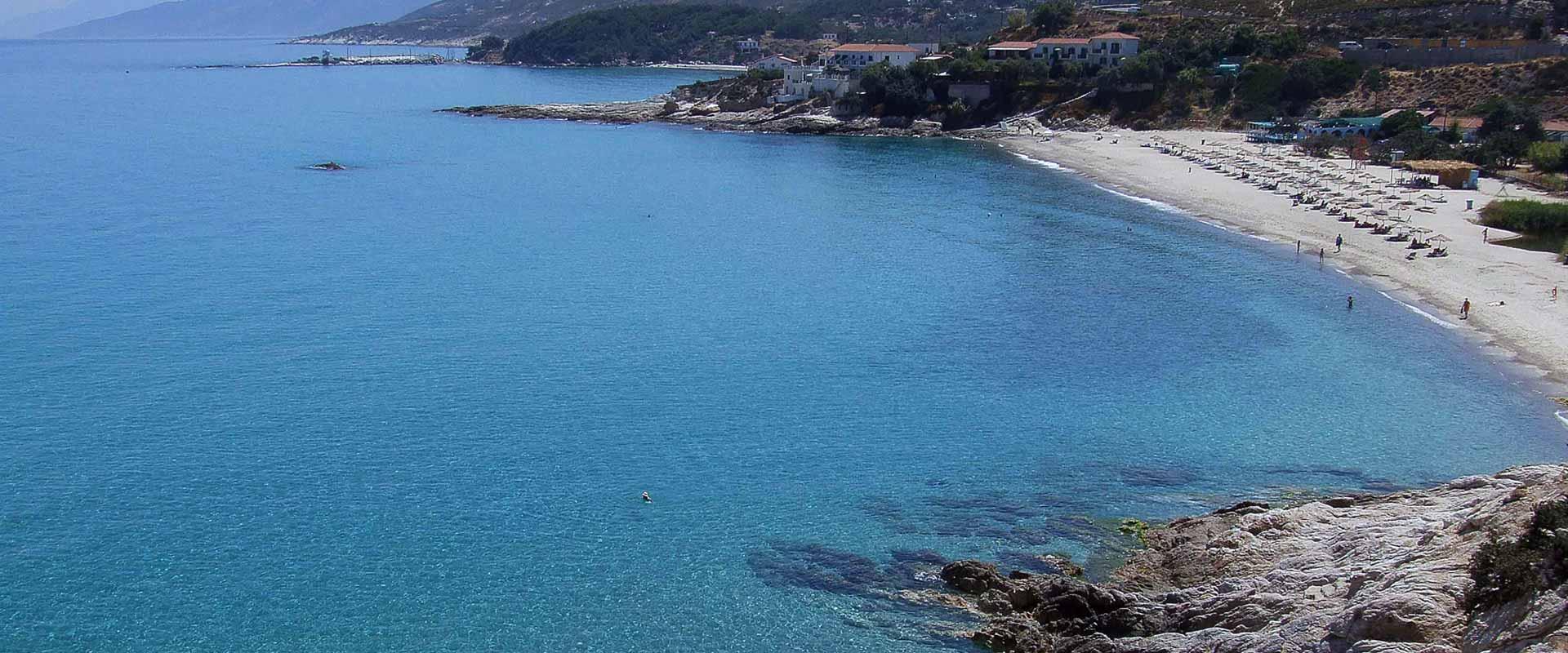 ikaria olivia villas livadi beach view photo