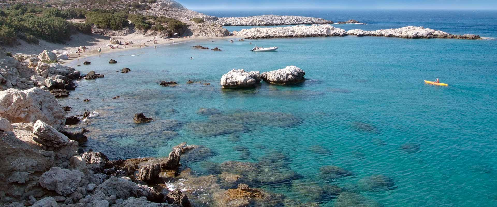 ikaria olivia villas saint george beach photo