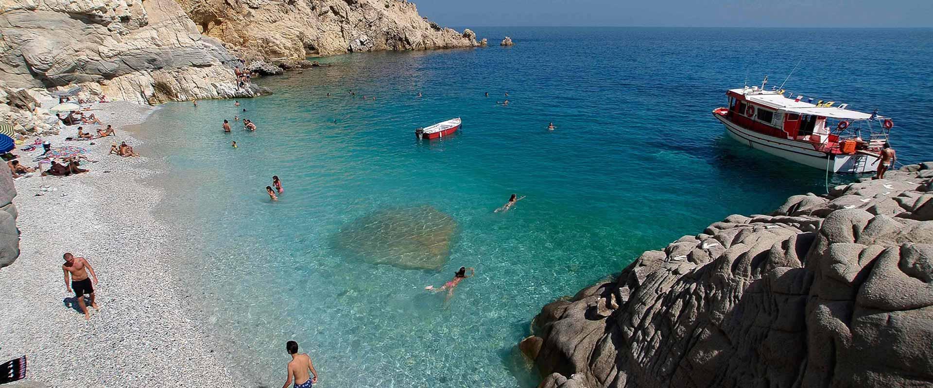 ikaria olivia villas beach picture