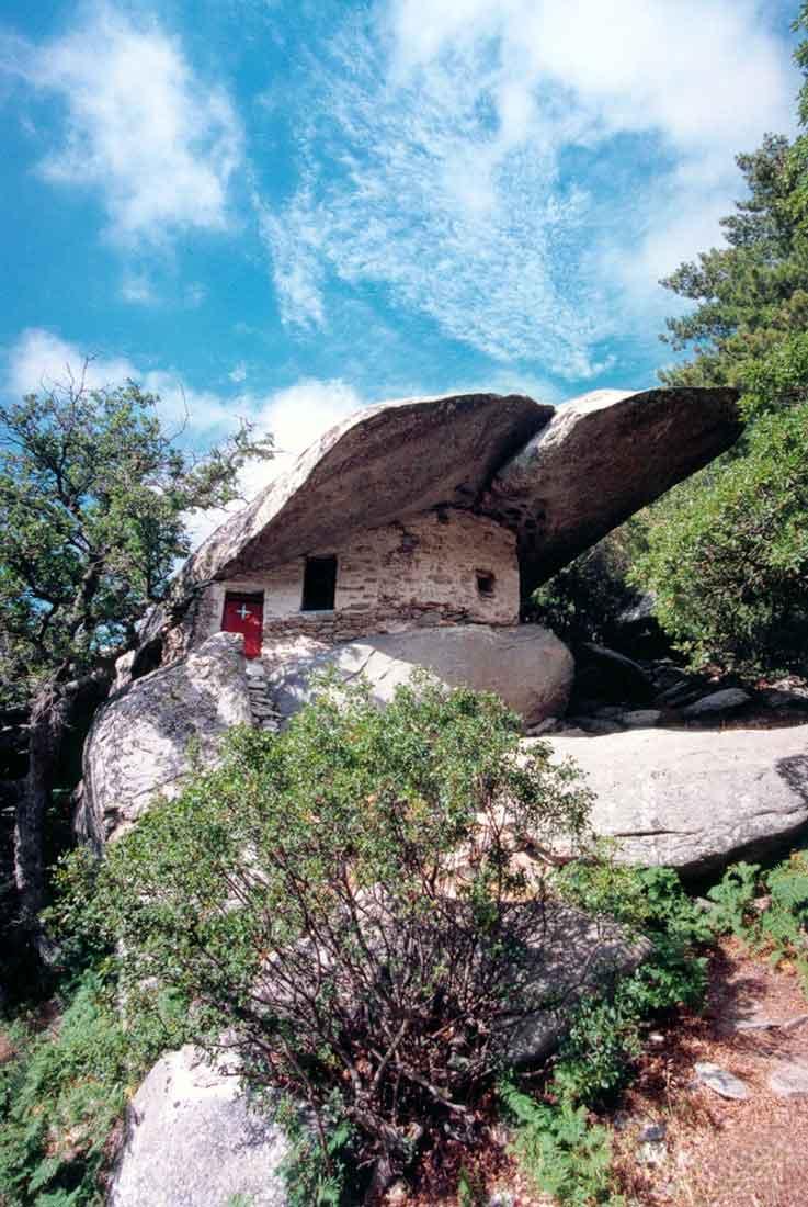 olivia villas Ικαρία Θεοσκεπαστη βράχος φωτό