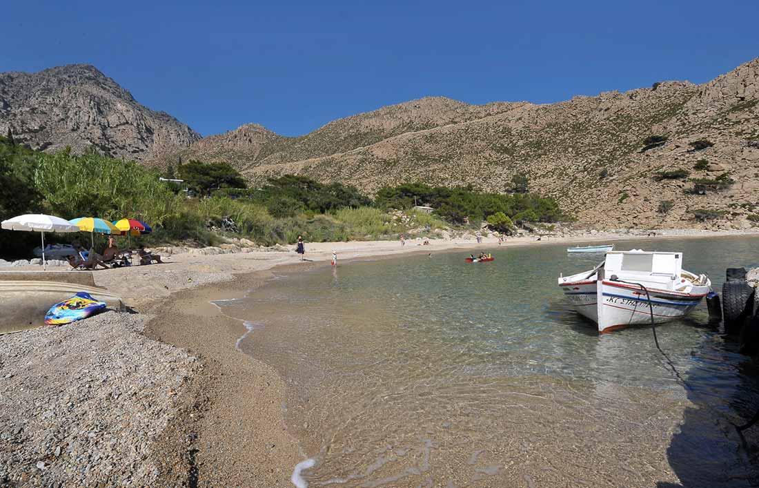 ikaria olivia villas saint trapalou beach